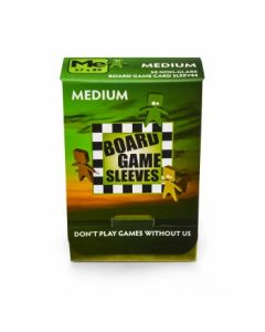 Board Games Sleeves (Non-Glare) - Medium  (57x89mm)