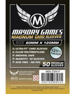Mayday Magnum Gold 80x120mm - 50 stuks